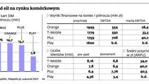 Układ sił na rynku komórkowym