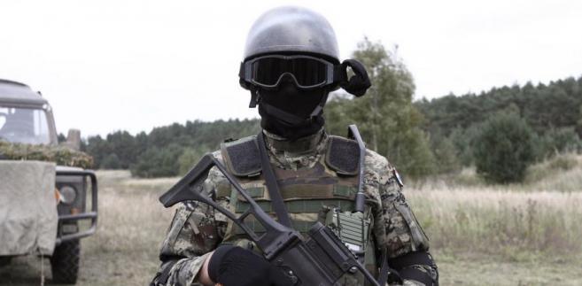 Żołnierz sił specjalnych
