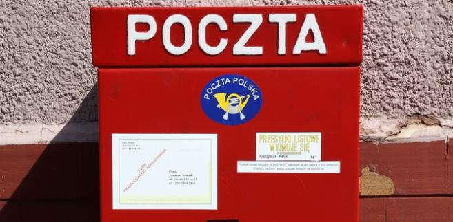 poczta, skrzynka pocztowa