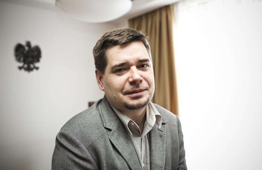 Michał Królikowski/ fot. Wojtek Górski