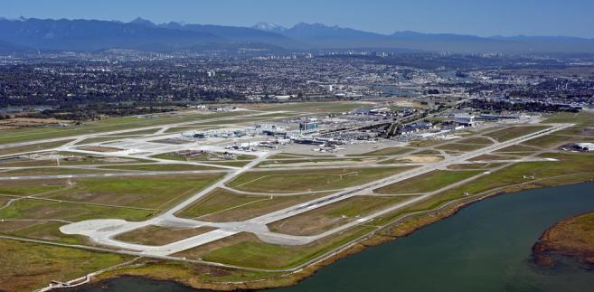 Lotnisko w Vancouver