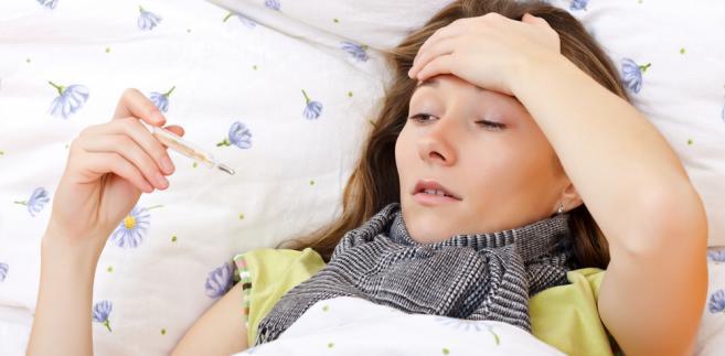 gorączka, pacjent, choroba, leczenie