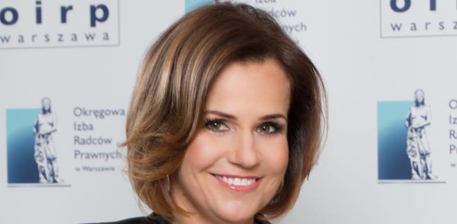 Agnieszka Sawaszkiewicz-Żałobka przewodnicząca komisji ds. aplikacji rady OIRP w Warszawie
