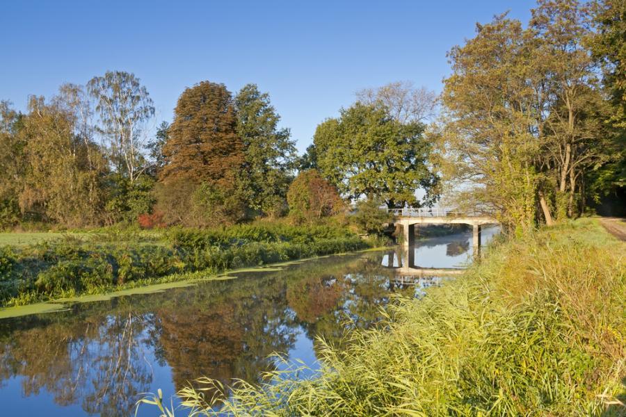 rzeka, woda, wieś, ekologia