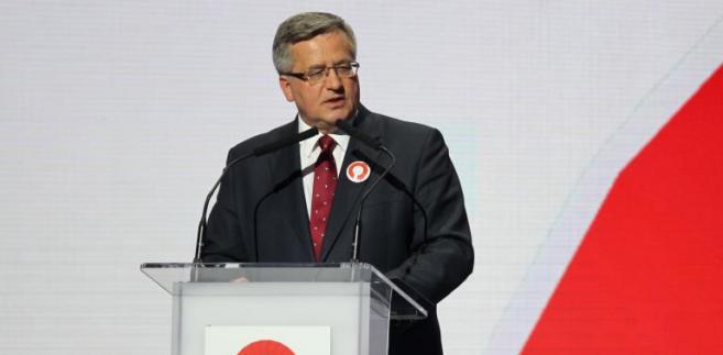 B. Komorowski na konwencji w Sopocie