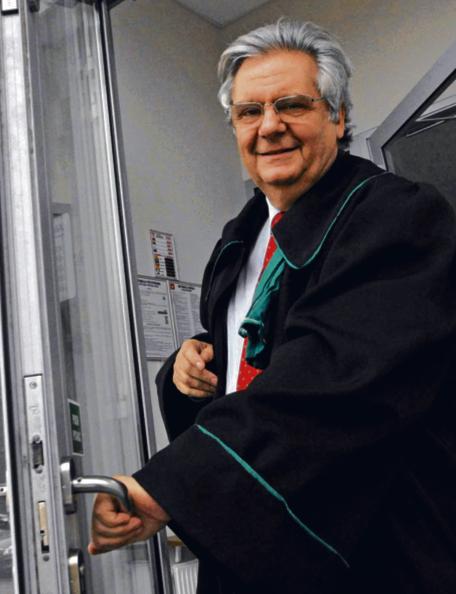 Prof. Piotr Kruszyński, przewodniczący Komisji Kodyfikacyjnej Prawa Karnego przy Ministrze Sprawiedliwości