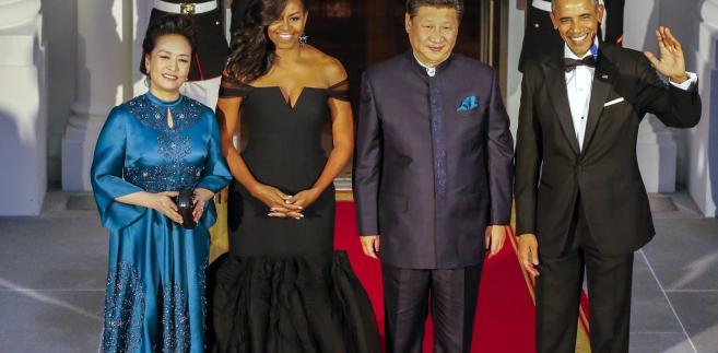 Obama i chiński prezydent