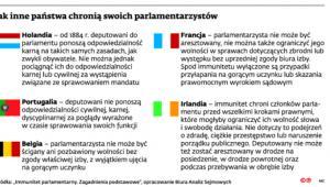Jak inne państwa chronią swoich parlamentarzystów