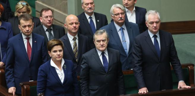 PiS, sejm, Szydło, Kempa, Kamiński, Macierewicz, Ziobro, Waszczykowski, Szałamacha, Gowin, Błaszczak, Szydło