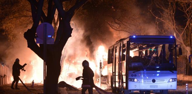 Eksplozja w centrum stolicy Turcji