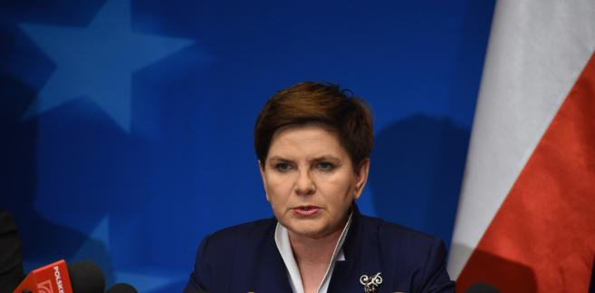 Szefowa rządu nie wykluczyła referendum w sprawie imigrantów.