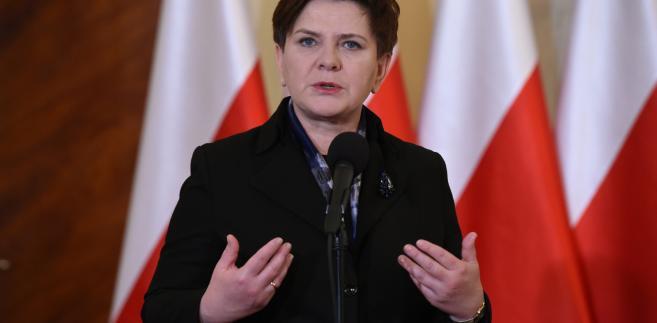Premier Beata Szydło spotkała się z Żołnierzami Wyklętymi na śniadaniu w Kancelarii Prezesa Rady Ministrów