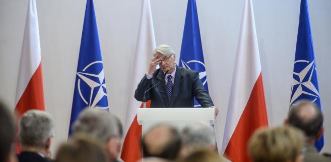 Waszczykowski NATO Polska