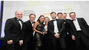 Na zdjęciu: partnerzy z działów IP Taylor Wessing z Niemiec, Anglii i Polski