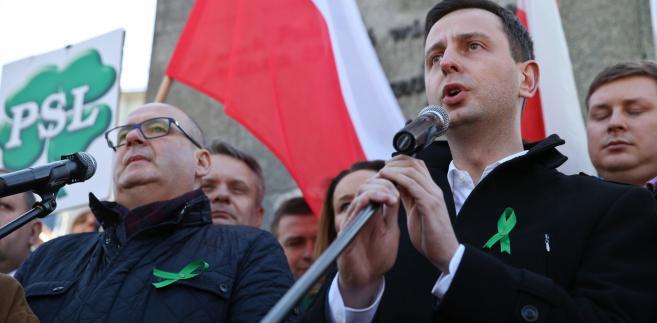 Lider PSL Władysław Kosiniak-Kamysz,