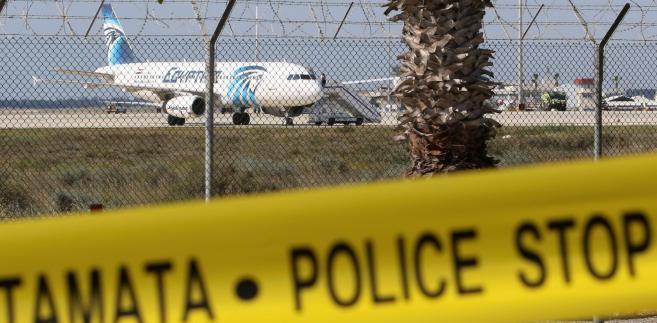 Cypr porwanie samolotu