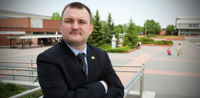 Jacek Pakuła, organizator konferencji, Uniwersytet Mikołaja Kopernika w Toruniu