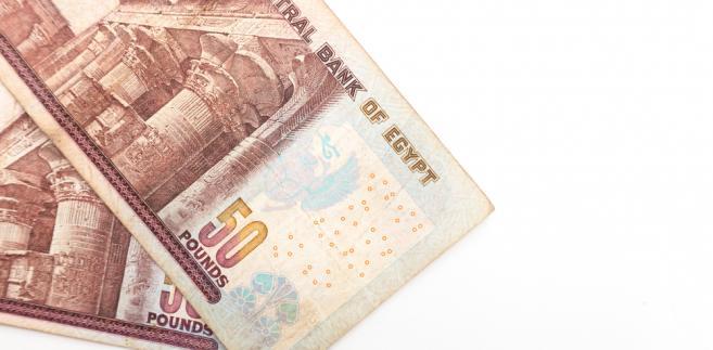 Egipt pieniądze