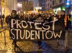 Studenci w całym kraju protestowali m.in. przeciwko łamaniu konstytucji