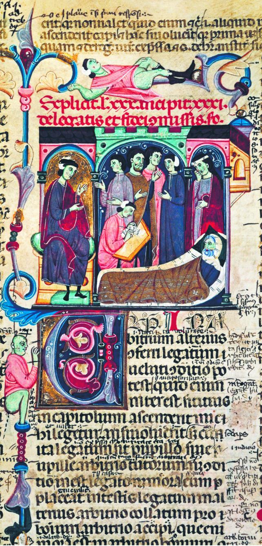 Wielki kodyfikator prawa rzymskiego cesarz Justynian, ogłaszając dzieło swego życia, zagroził surowymi karami wszystkim, którzy ośmieliliby się komentować wprowadzone przez niego przepisy. Dopuścił jedynie sporządzanie krótkich uwag wyjaśniających