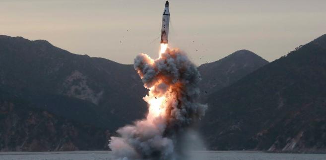Próba rakietowa Korei Północnej