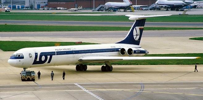 samolot LOT katastrofa Las Kabacki