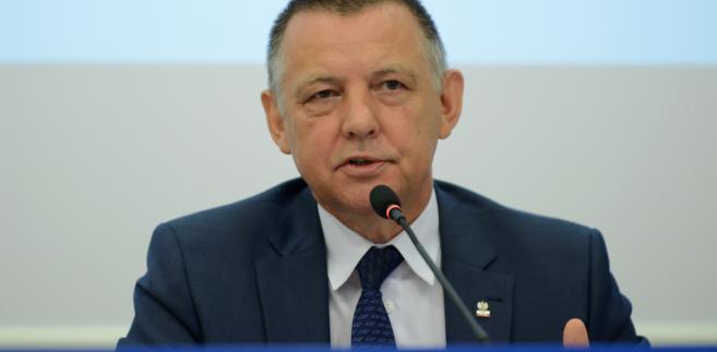 Szef Krajowej Administracji Skarbowej, wiceminister finansów Marian Banaś