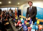 Były premier Katalonii oddał się w ręce policji