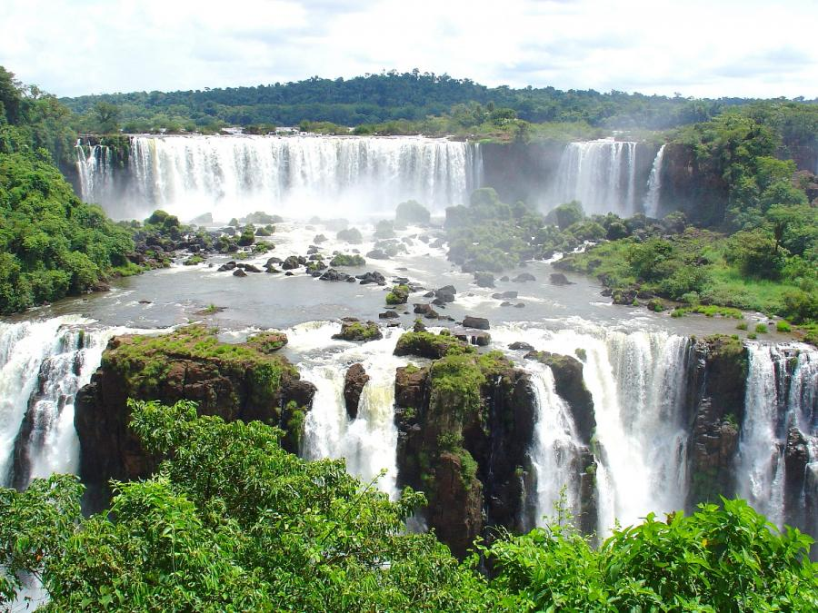 Wodospad Iguazú, Brazylia