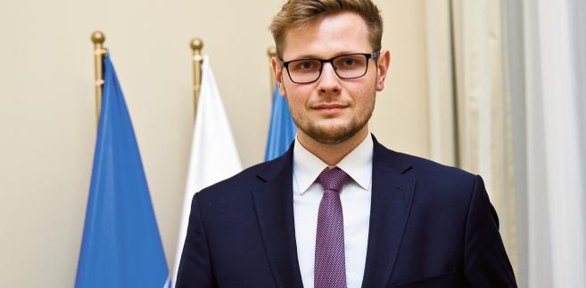 Michał Woś / fot. Wojtek Górski