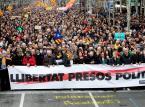 Hiszpania: 52 rannych podczas manifestacji separatystów w Katalonii