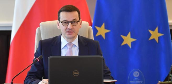 – Wspieramy małą i średnią polską przedsiębiorczość – deklarował Morawiecki.