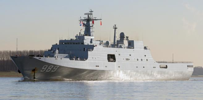 Chiny niedawno organizowały największą w historii paradę marynarki