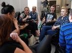 Protestujący w Sejmie: Rafalska przeinacza nasze postulaty