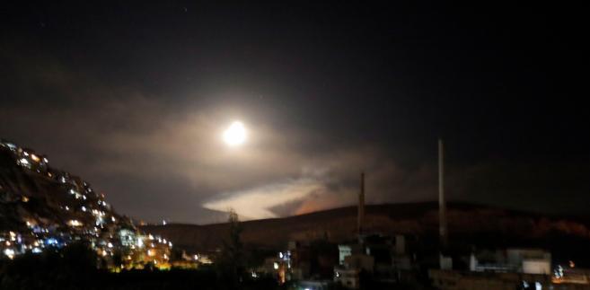 Kilka izraelskich rakiet zostało zestrzelonych na południe od miasta Hims