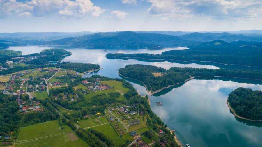 Jezioro Solińskie, Solina, Bieszczady