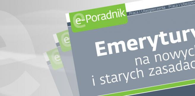 e-book: Emerytury na starych i nowych zasadach