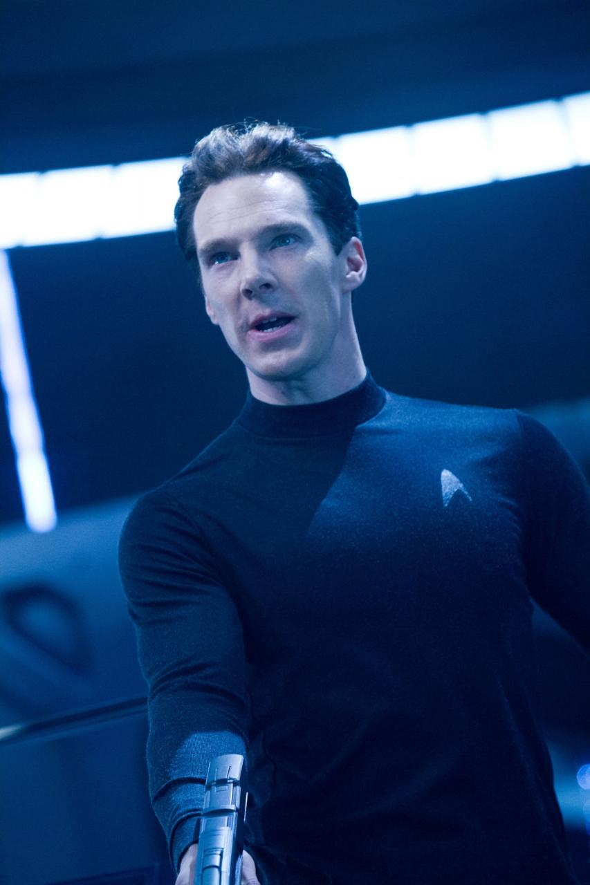 "Benedict Cumberbatch w filmie ""Star Trek Into Darkness"""