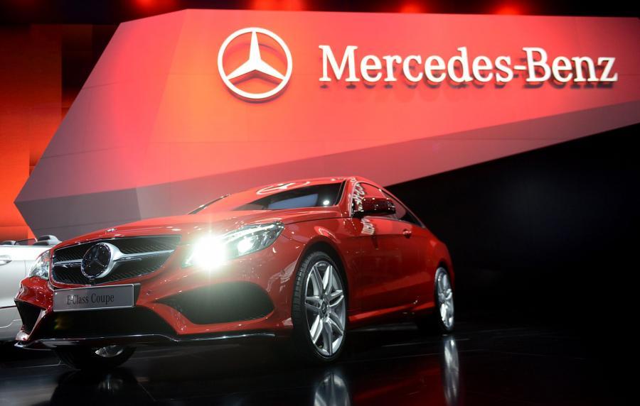 North American International Auto Show 2013: Mercedes-Benz E-Class Coupe