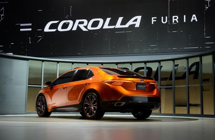 North American International Auto Show 2013: Toyota Corolla Furia concept