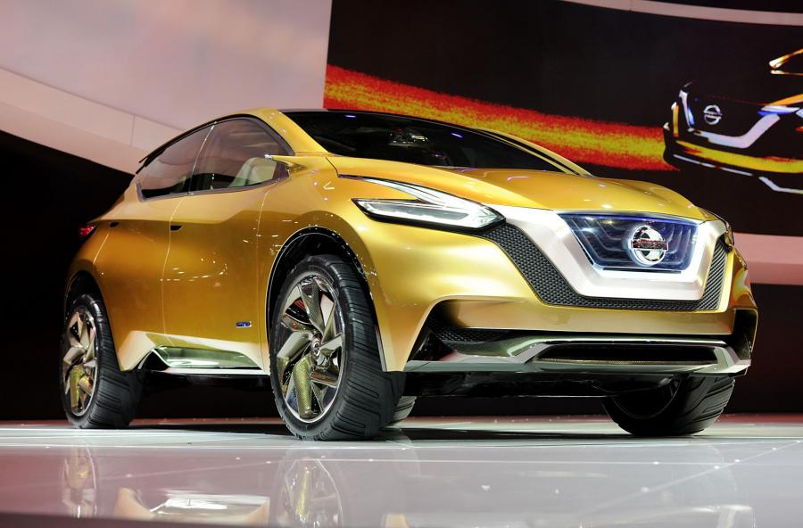 Koncepcyjny model SUV-a Nissana Resonance