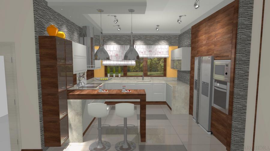 Nowoczesna kuchnia - Archidra