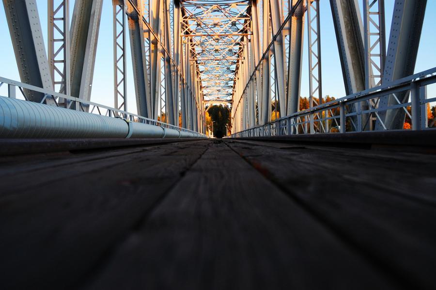 Most kolejowy, Savonlinna, Finlandia