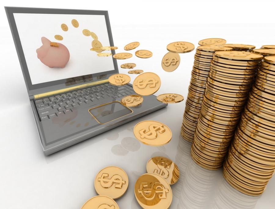 internet, pieniądze, komputer