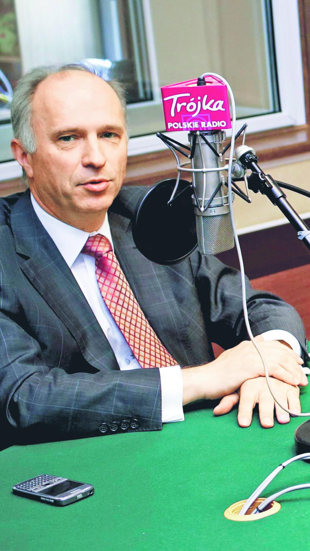 Andrzej Jakubiak, Przewodniczący KNF Fot. Wojtek Górski