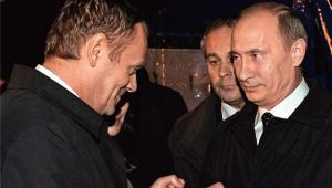 wSieci publikuje nieznane zdjęcie Tuska i Putina. Premier nie był zrozpaczony po katastrofie smoleńskiej?