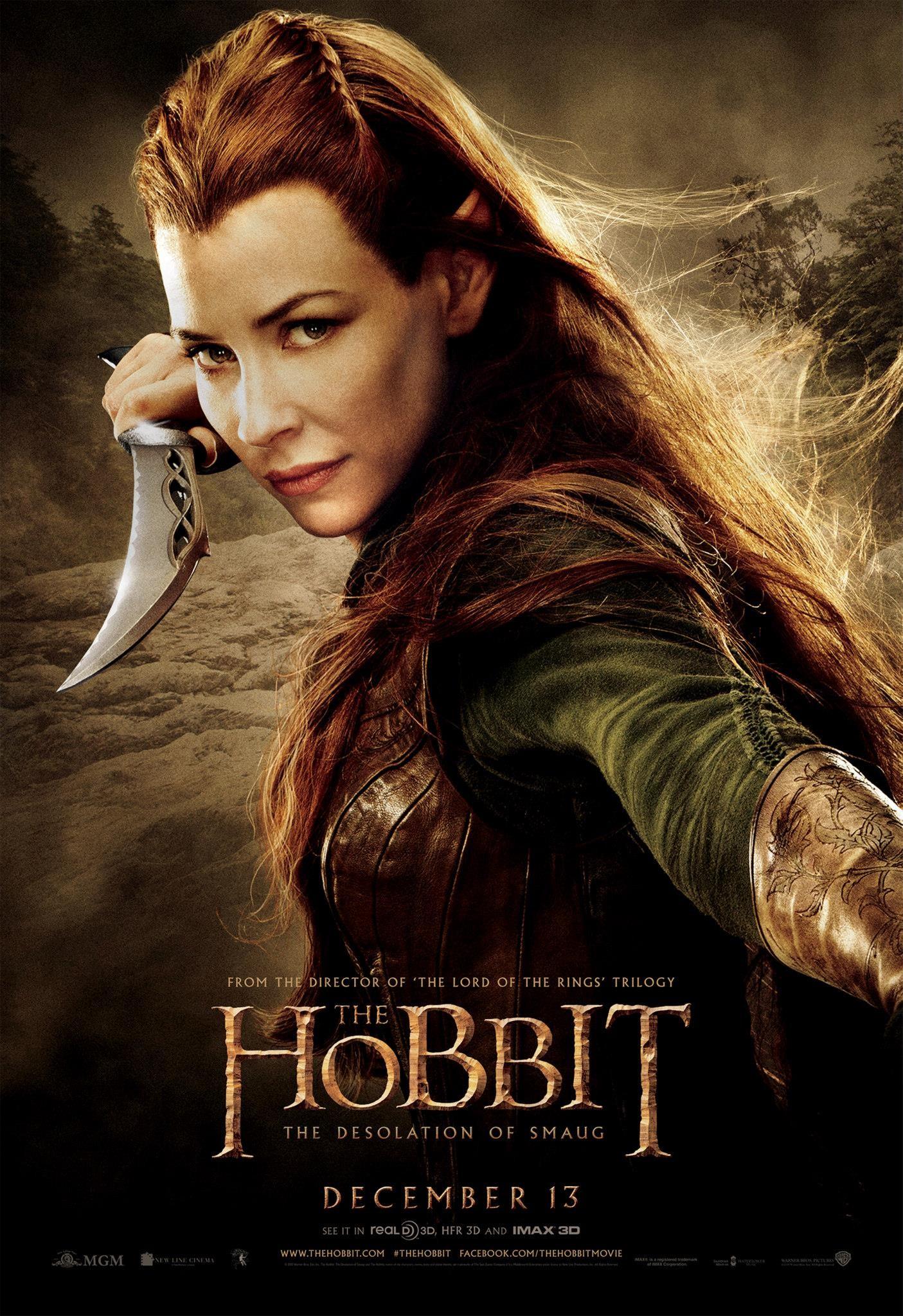 """""""Hobbit: Pustkowie Smauga"""" Tauriel"""