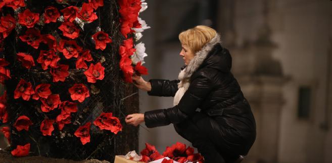 Happening Solidarnej Polski na placu Zbawiciela
