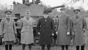 Pierwsi alianci: Winston Churchill, Władysław Sikorski oraz Charles de Gaulle