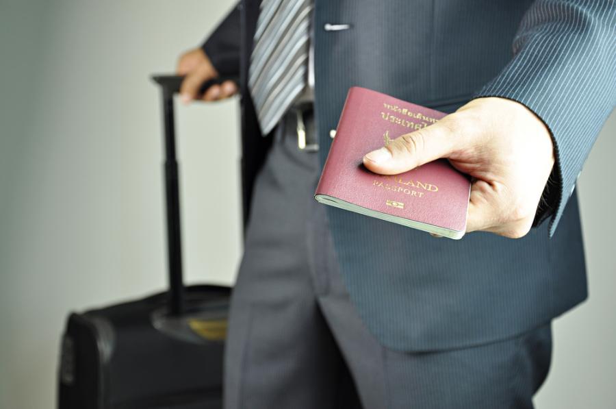 paszport walizka